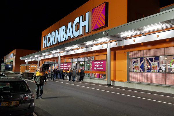 Eröffnung neuer Hornbach in Duiven