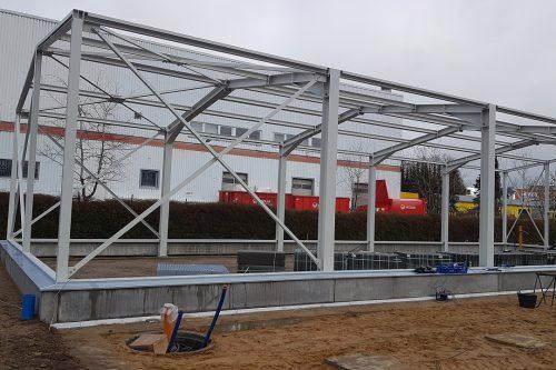 Neubau eines Boels Mietcenters Norderstedt 5