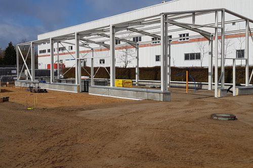 Neubau eines Boels Mietcenters Norderstedt 4